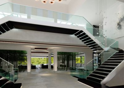 Contemporary Architecture Staircase Design.