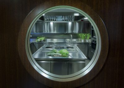 Yacht Kitchens & Galley Kitchens Are Featured In the Yacht Refurbishment Menu Of This Website.