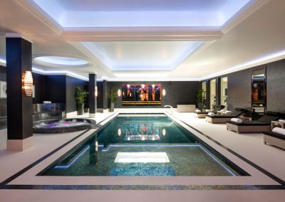 Exclusive Pool & Jacuzzi Project Design.