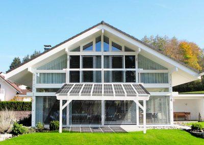 Contemporary Solar Home & Canopy Design.