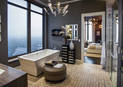Ensuite Bath & Interior Suite Design.