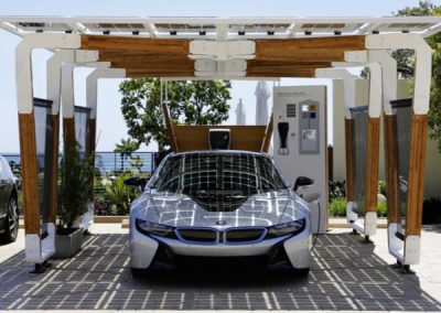 We Install The Latest Solar Car Port & Car Charging Technology In Both Homes & Businesses.