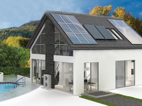 Halifax Solar Thermal Ground Source Air Source Hybrid