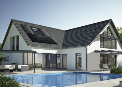 Modern Build, Pool & Patio Project With Solar PV, Heating , Hot Water, Canopy & Pergola.