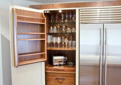 Larder Cupboard Cabinet Storage.