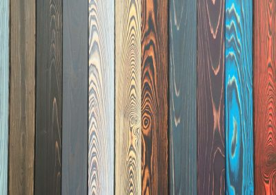 Shou Sugi Ban Timber Colour Examples.