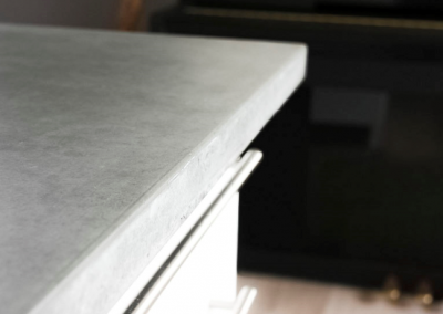 Concrete Worktop Design Can Be A Real Feature Of Your Kitchen.