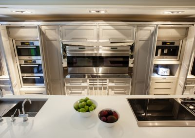 Feature Gaggenau Oven Design.
