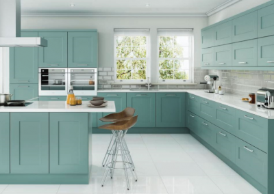 Fiord Kitchen In Vinyl Wrap or Painted.
