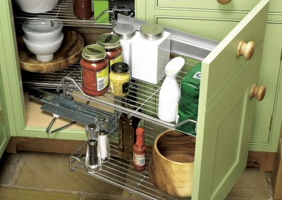 Magic Corner Solution For Ease Of Access To Food Products.