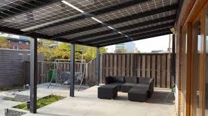 Our Solar Option Verandas, Canopy's & Pergolas.