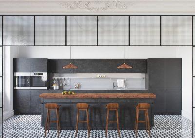 Basalt & Timber Kitchen Project.
