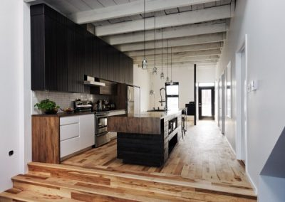 GKD Timber & Ice White Fusion Kitchen.