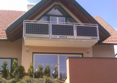 Home Solar Balcony Project Design.