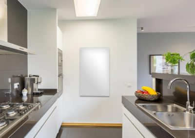 Kitchen 'Temps' Infrared Heating In White.