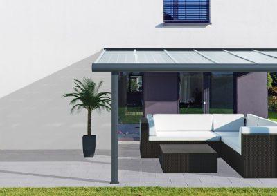 Open Modern Canopy CAD.
