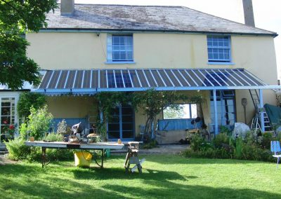 PV Solar Veranda on Country House & listed building Applications.