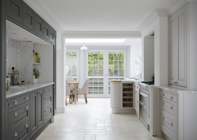 Painted Slate & Light Grey Ash Ely M Inframe Kitchen