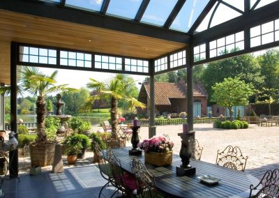 Private Commission Veranda Canopy Design With Solar Optional.