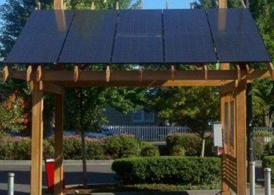 Solar Gazebo.