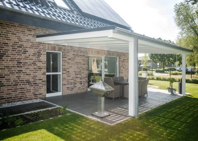 Solar Home With PV Lesiure Canopy.