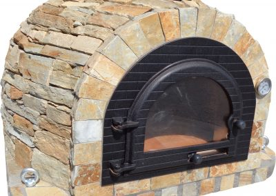 Your Kitchen Can Be Designed With A Hand Made Gas Or Traditional Wood Burning Pizza Oven.