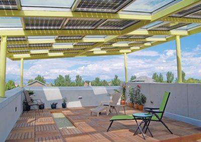 Retro Terrace Solar Canopy.