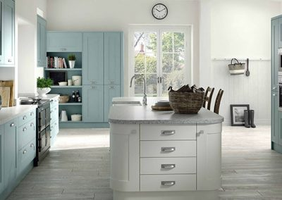 Simple Shaker In Mussel With Feature Island.