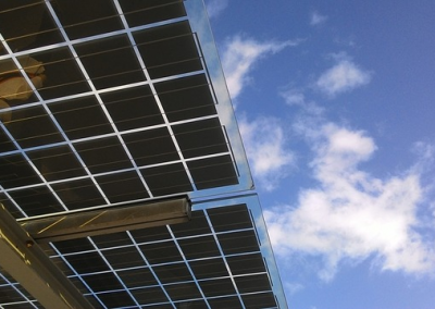 Solar PV light Panel.