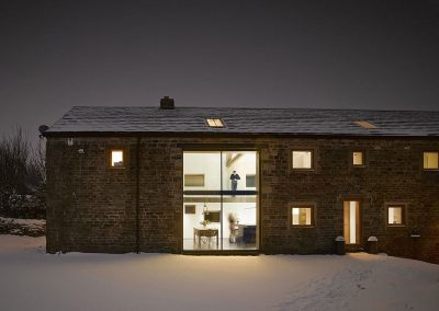 17th Century Yorkshire Barn Conversion Side View.