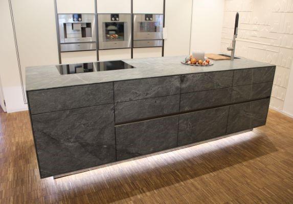 Credenza Definition In English : Granite kitchen credenza island projects gallery