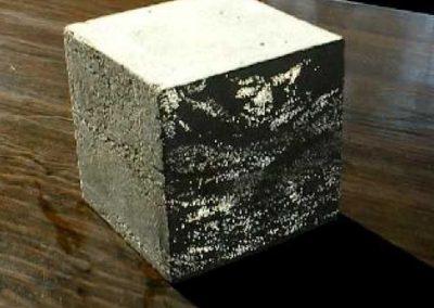 Translucent Concrete Block For Design.