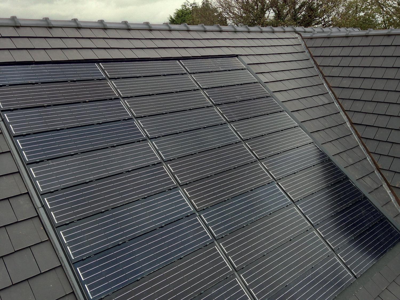Solar Tiles Solar Slates Pv Integration G2techk Gallery