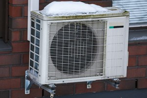 Air Source Heat Pump System.