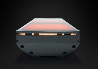 All White Fascia G2T Infrared Heater.
