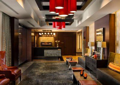 Apartment Lobby Design