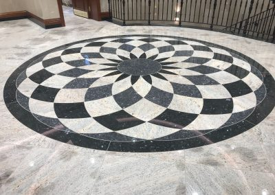 Bespoke Design Stone Tile Flooring.