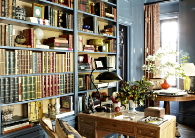 Traditional Library & Classic Study Furnishing.