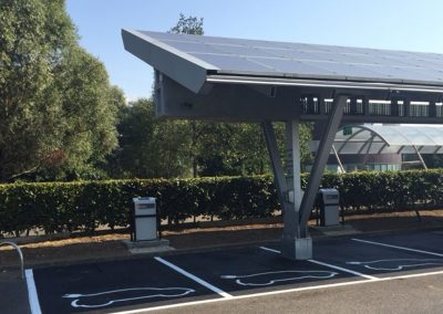 Commercial Solar Car Port & Car Charging Projects.