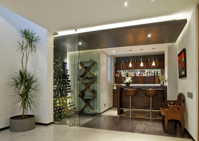 Contemporary Bar Design Project.