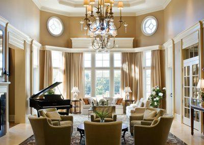 Decor Semi Classic Living Room.