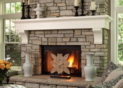 Electrical Or Alternative Heating Fire Design.
