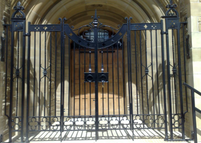 Entrance Gate To Private Residence.