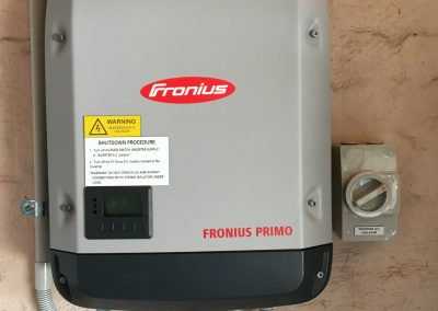 Inverter System Installation.