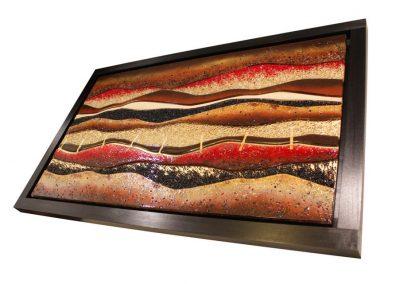 Glass Art Desert Design.