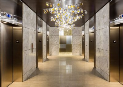 Hall Lift Decor Design.