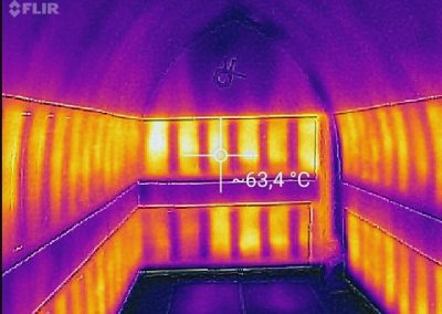 Thermal Image Proof Of Working BIPS System in Spa.