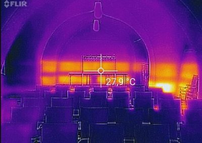 Thermal Proof Of Working BIPS System At Church Project.