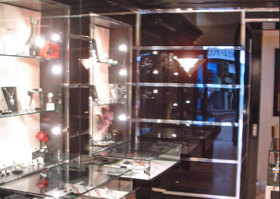 Jewellery Store With Glass & Resin Display.