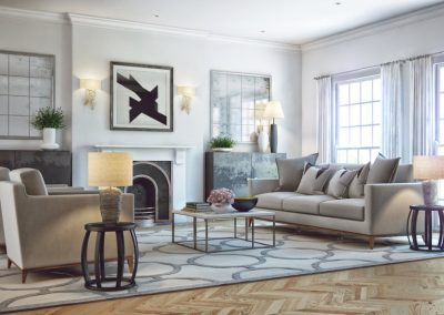 Lounge Design With Neutral Colours.